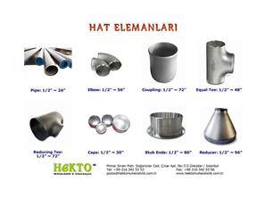 Hat Elemanları Fittings FITTINGS
