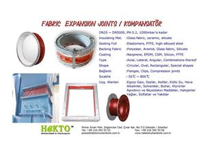 Fabric Bez Expansion Joints Kompansatör Kompanzatör