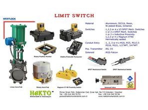 Limit Switch Box LIMIT SWITCH Kutusu Swic SWIC WESTLOCK