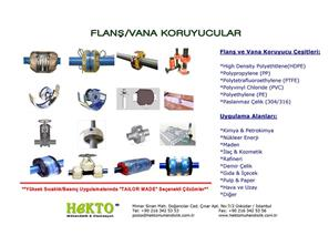 Flanş Koruyucular Flanged Guards Safe Safety Güvenlik Vana Valve